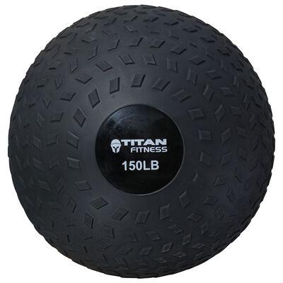 150 LB Titan Fitness Slam Ball Rubber