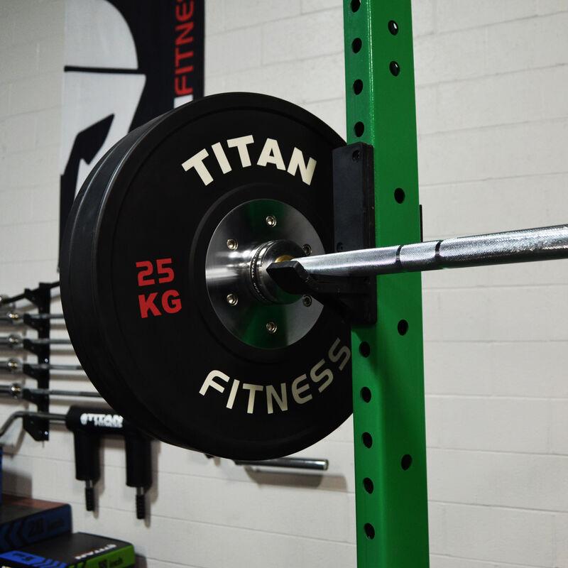 "T-3 Series Tall Power Rack   24"" Depth   Envy Green"