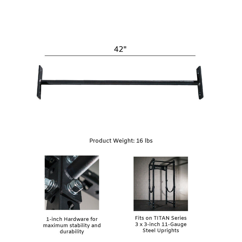 TITAN Series 1.25-in Single Pull-Up Bar