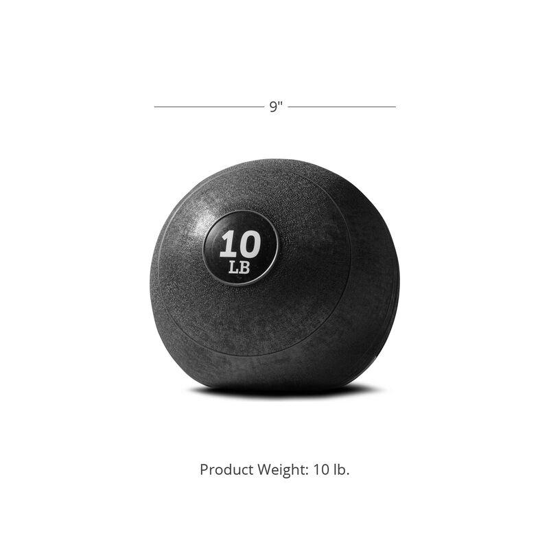 10 LB Rubber Slam Ball