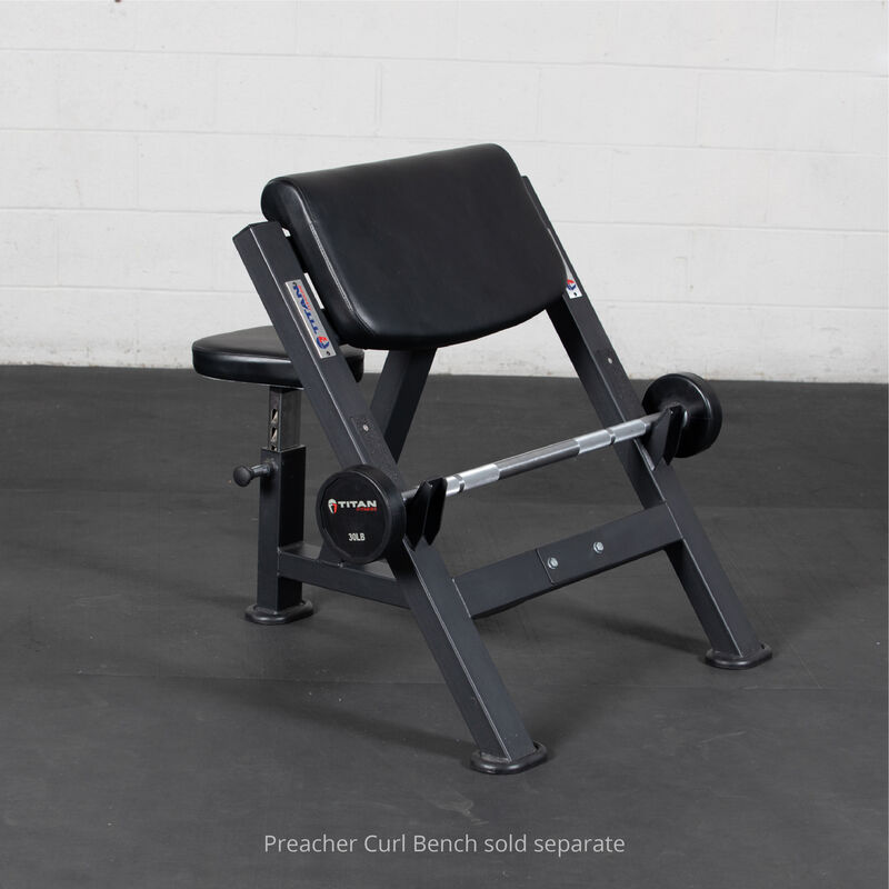 30 LB Straight Rubber Fixed Barbell