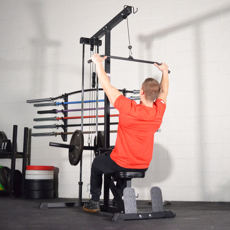 Plate Loadable Lat Tower | v2