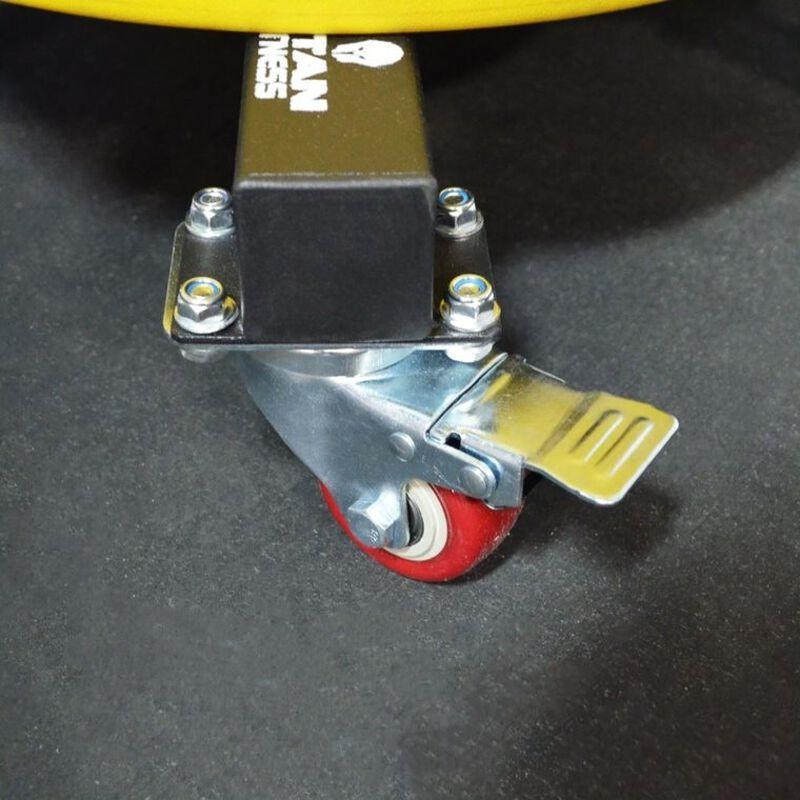 Vertical Weight Plate Storage w/ Wheels | v2