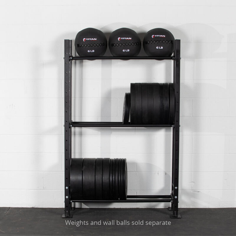 73-in 3-Tier Mass Storage System with 42-in Shelves