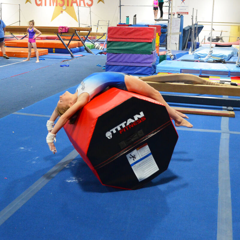 Junior Gymnastic Large Octagon Style Tumbler Trainer