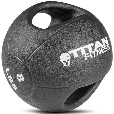 8lb Dual Grip Medicine Ball