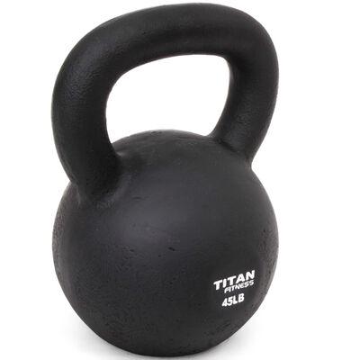 Cast Iron Kettlebell Weight - 45 lbs