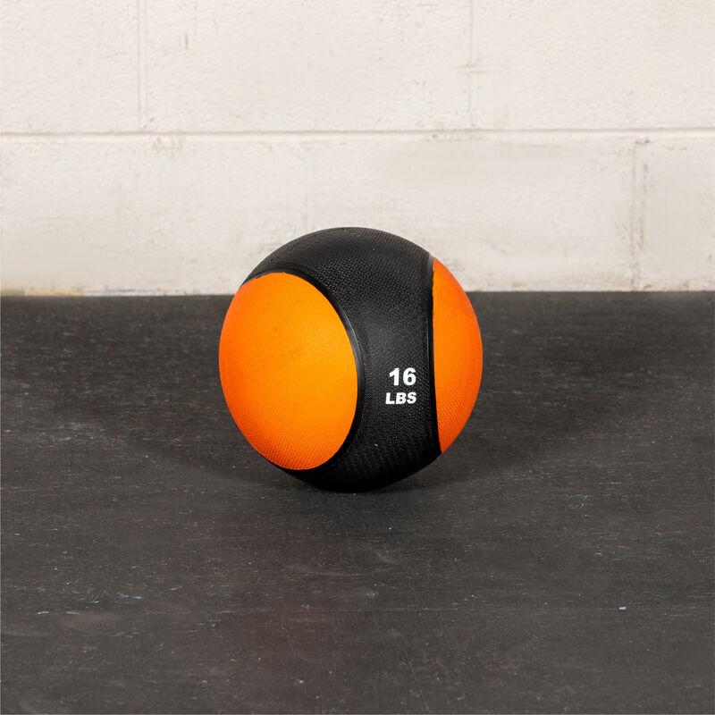 16 LB Rubber Medicine Ball