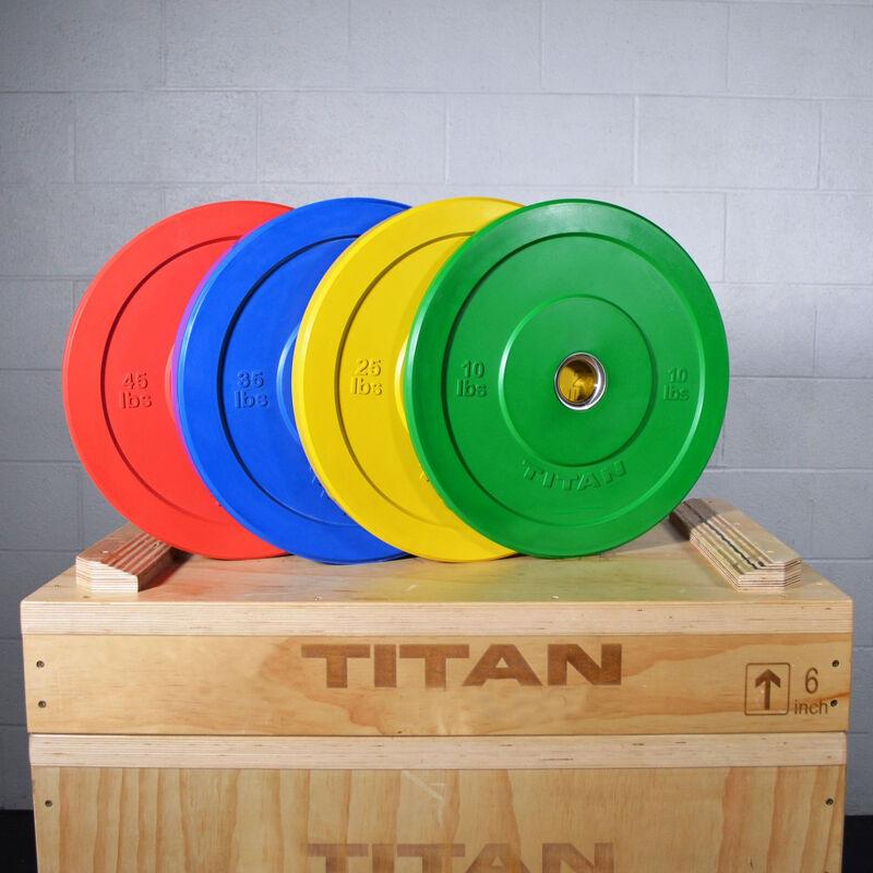35 LB Single Economy Color Bumper Plate