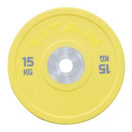 Scratch and Dent - Urethane Bumper Plates | Color | 15 KG Single | SKU: 430217 - FINAL SALE