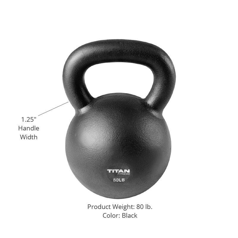 80 LB Cast Iron Kettlebell