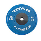 Elite Color Bumper Plate – 45 lb. Single