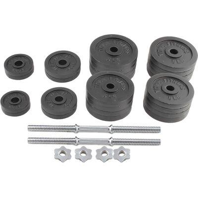 Pair of Adjustable Cast Iron Dumbbells 5-50 lb each