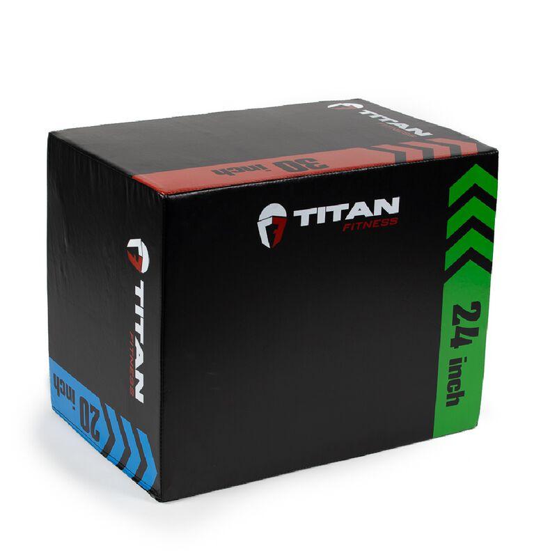3-In-1 Heavy Foam Plyometric Box