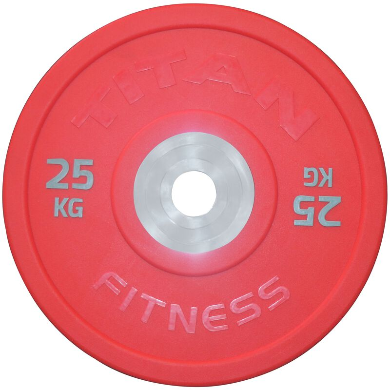Urethane Bumper Plate   Color   25 KG Single