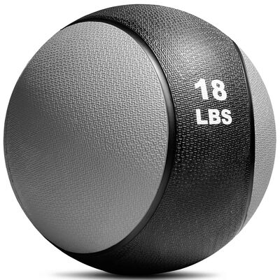 18 LB Rubber Medicine Ball