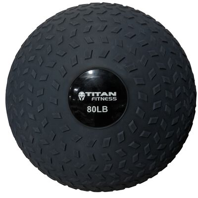 80LB Titan Fitness Slam Ball Rubber