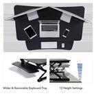 FlexiSpot ClassicRiser Series | Adjustable Standing Desk | 47-in platform | Black