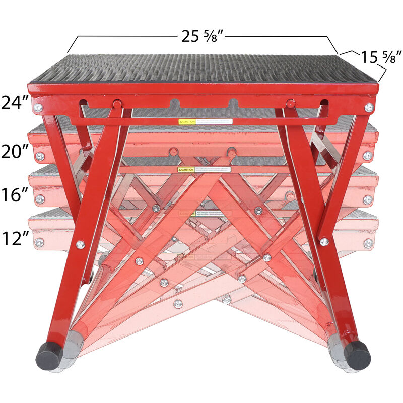 12 – 24-in Adjustable Plyometric Box