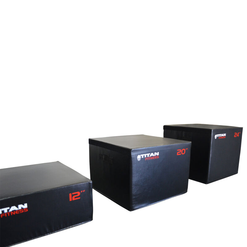 "Portable Foam Plyometric Bundle 6"", 12"", 20"", 24"""