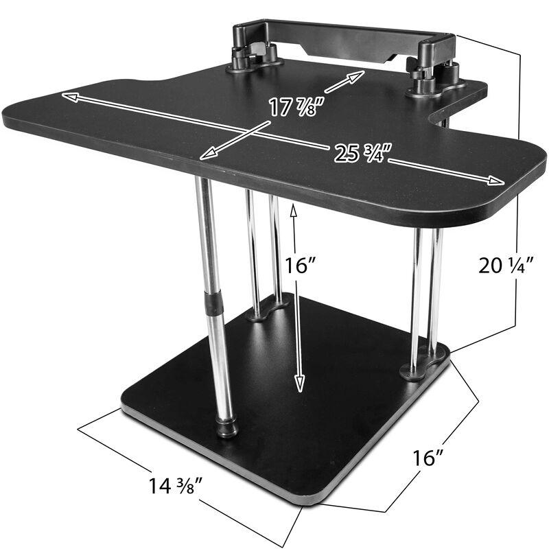 Adjustable Deluxe Stand / Sit Desk Conversion Kit
