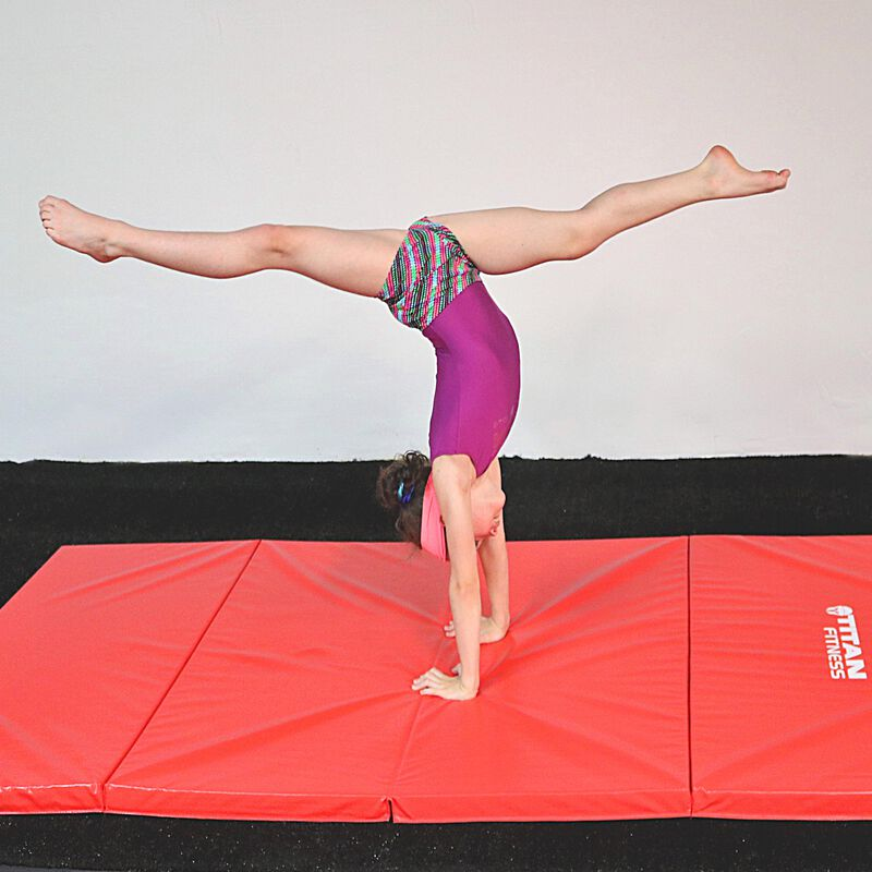 Jr. Gymnastics 5-in-1 Bar & Mat Combo | 8' x 4' x 2""