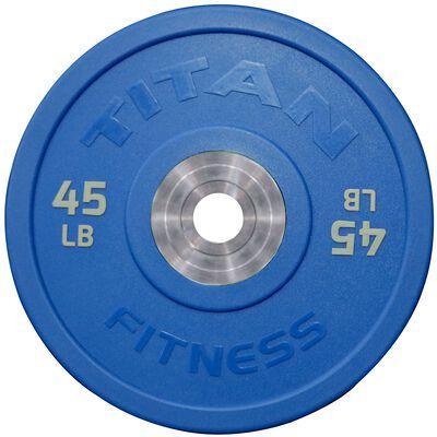 Urethane Bumper Plates | Color | 45 LB Single | SKU: 430224