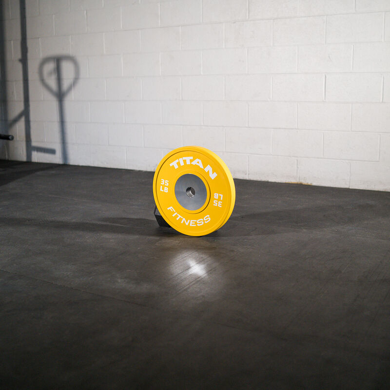 35 LB Single Elite Color Bumper Plate