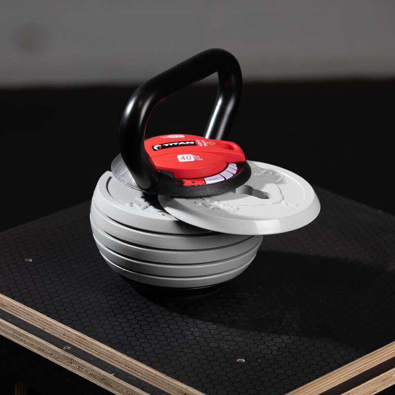 10 LB - 40 LB Adjustable Kettlebell