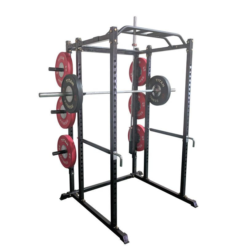 Vertical Mount Barbell Holder for T-2 Power Rack