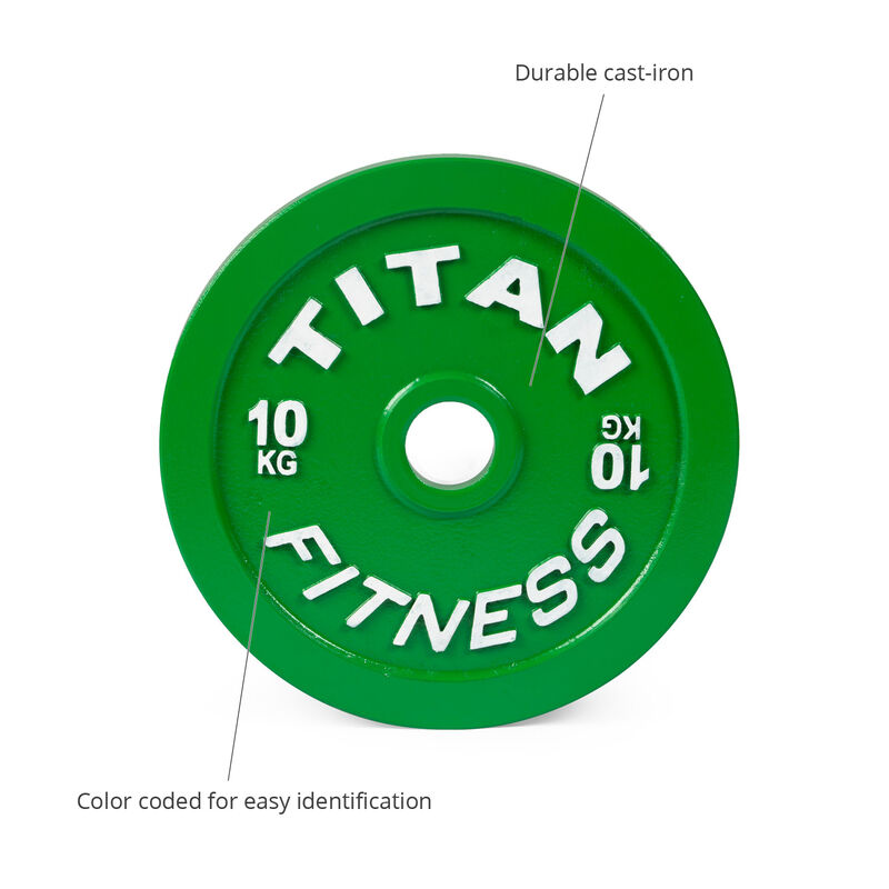 10 KG Single Calibrated Steel Plate