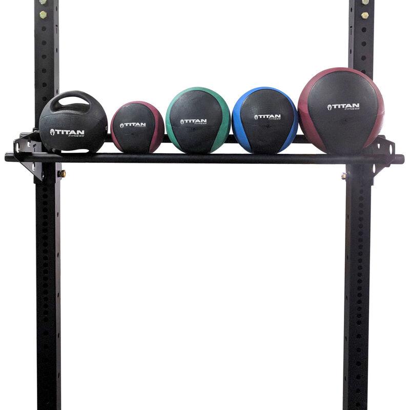 Strip Mounted Medicine Ball Storage