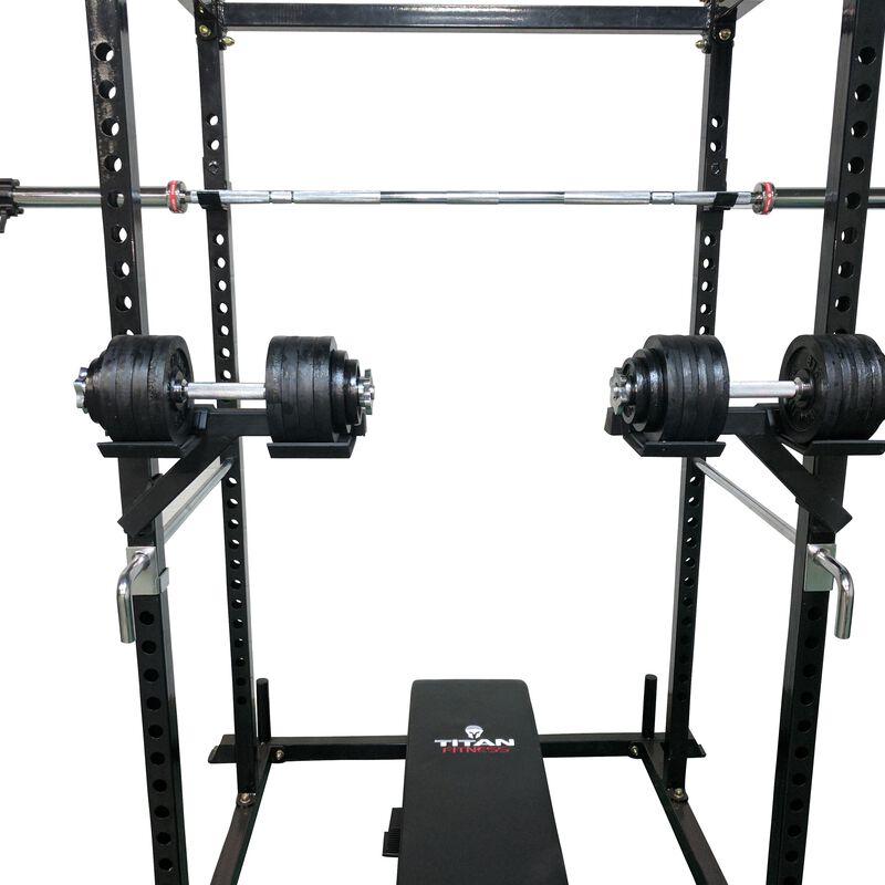 Dumbbell Weight Bar Holders For T-2 Power Rack