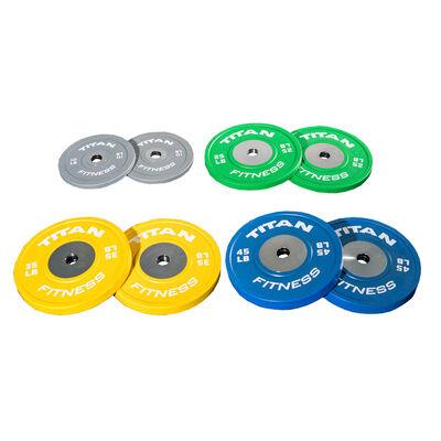 Elite Color Bumper Plates LB Set – 230 lb.