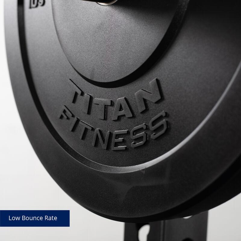 LB Economy Black Bumper Plates