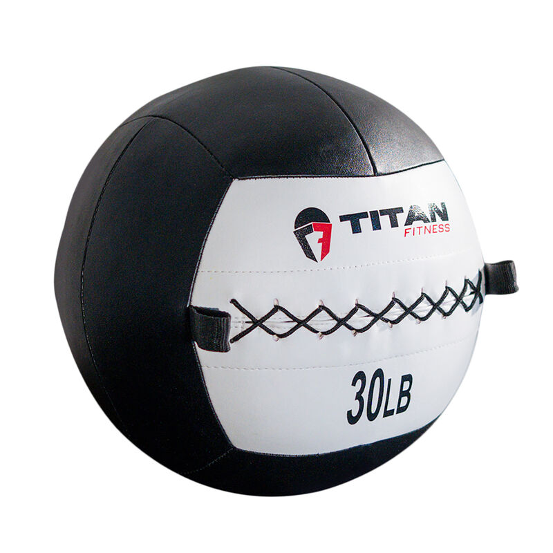 30 lb. Soft Medicine Wall Ball – Leather