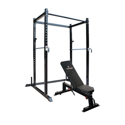 T-2 Short Power Rack & Incline Bench Combo