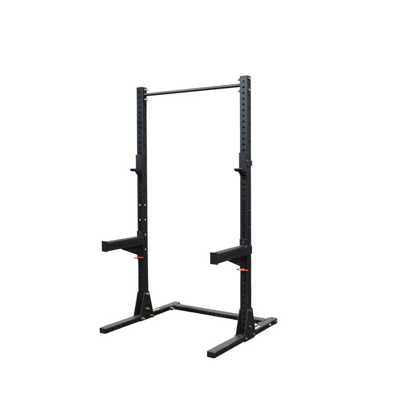 X3 Squat Stand With Pull Up Bar - Shop Titan X3 Squat Rack & Stand With Spotter Arms Online + Free Shipping | Titan® Fitness