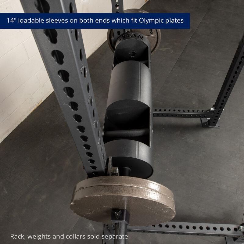 10-in Rackable Strongman Log Bar