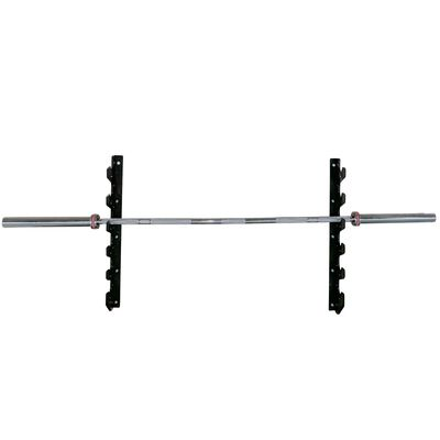 Wall Mounted 6 Barbell Gun Rack