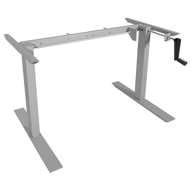 Hand Crank Adjustable Sit to Stand S5 Desk Frame