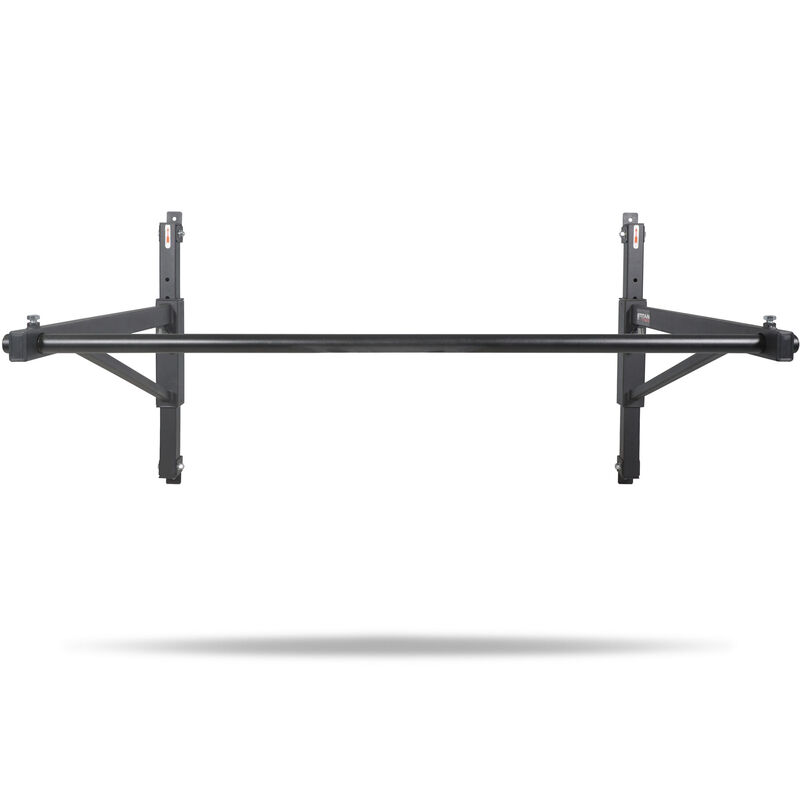 Adjustable Height Wall-Mounted Pull-Up Chin-Up Bar