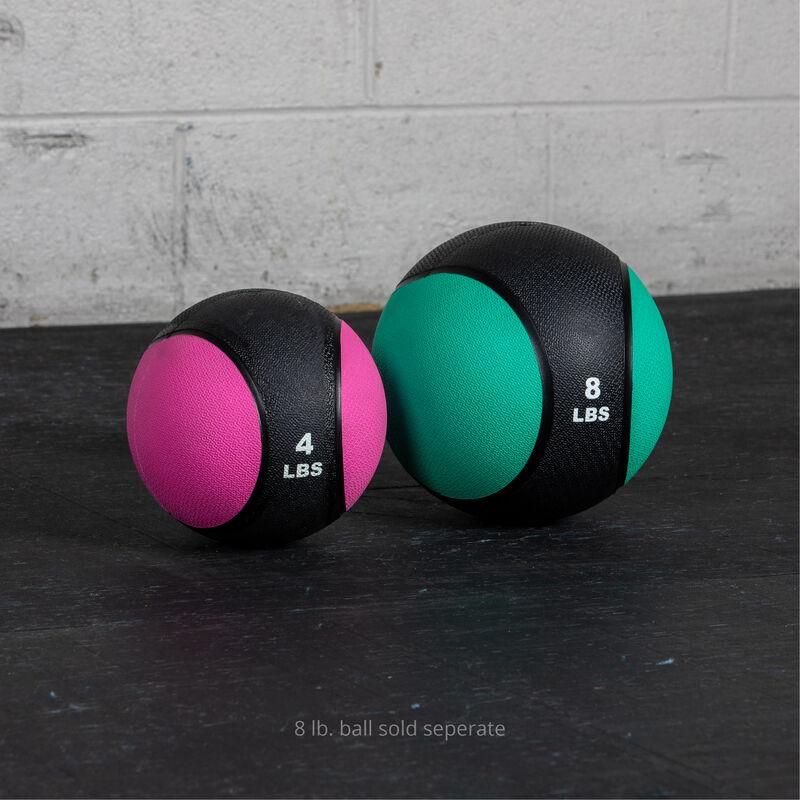 4 LB Rubber Medicine Ball