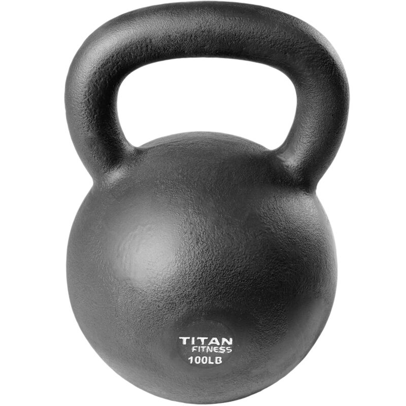 Cast Iron Kettlebell Weight - 100 lb