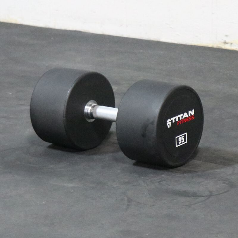 Urethane Dumbbells | 95 LB | Pair