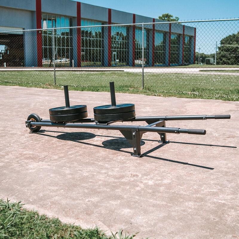 45 LB Single Economy Black Bumper Plate