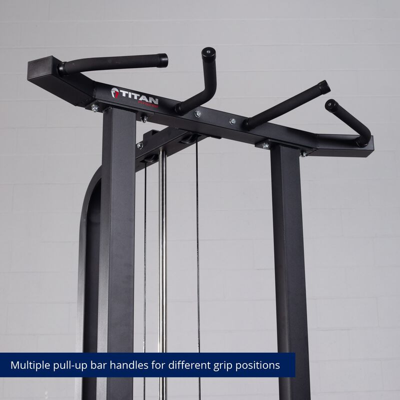 Plate-Loaded Assisted Pull-Up and Dip Machine