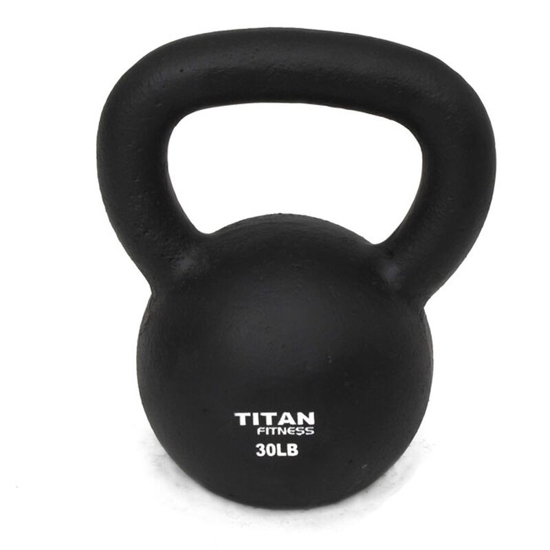 Cast Iron Kettlebell Weight - 30 lbs