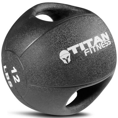 12lb Dual Grip Medicine Ball