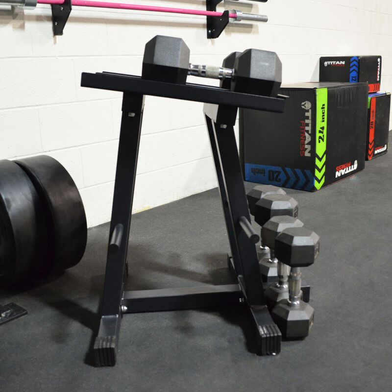 Dumbbell Stand and Plate Tree Power Block | v3